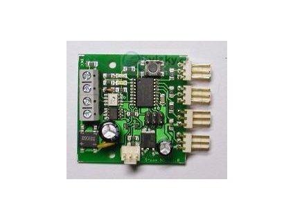 ND4 - návěstní dekodér DCC/ČSD pro 4 x S-com / MTB ND4