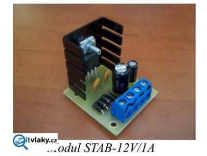 Stabilizátor napětí 12V/1A / Němeček 903