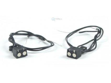 TT - magnetické spřáhlo el. vodivé, 2 vodiče, 2 kusy / PEHO 330