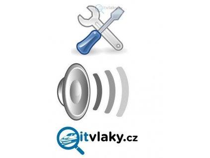 montáž zvukového kitu PIKO 56340-563455, 46194-46197 atd.