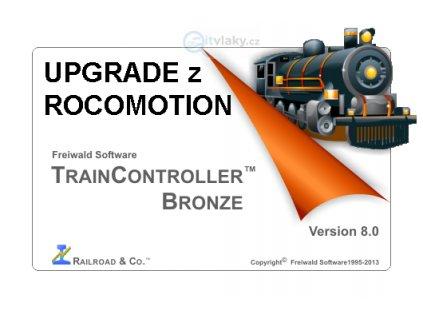 UPGRADE! ovládací sw TrainController Bronze 8.0 Freiwald - přechod z ROCOMOTION