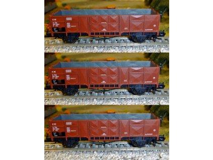 TT - 3 vozy Vtr ČSD, různá čísla 3205 - 3207 / Loco S320