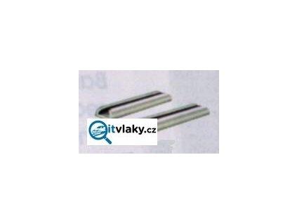 H0 - kolejové spojky vodivé pro 2,5 mm, 24 ks v balení / PECO SL-10