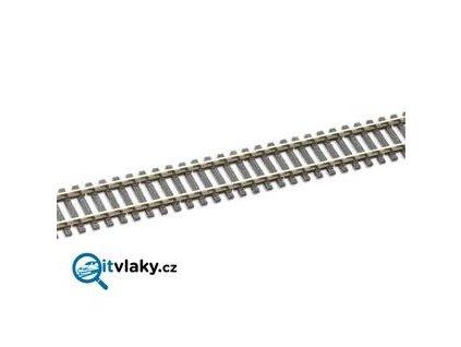 H0 - kolej flexi 914 mm, dřevěné pražce 1,9 mm / PECO SL-100F