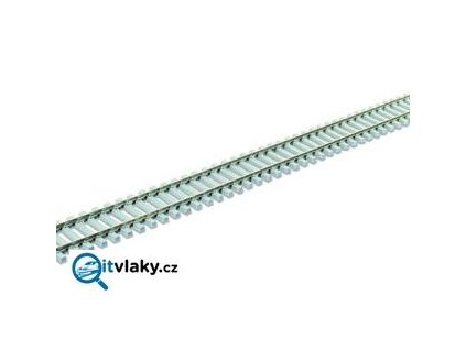 H0 - kolej flexi 914 mm, betonové pražce 1,9 mm / PECO SL-102F