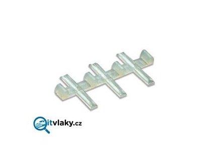 H0 - spojka izolační 12ks pro 2,5 mm / PECO SL-11