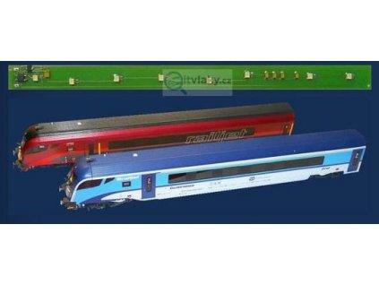 H0 - osvětlení koncového vozu RailJet - DCC a analog / STE 001