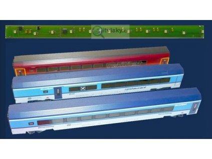 H0 - osvětlení vozu RailJet DCC / STE 002