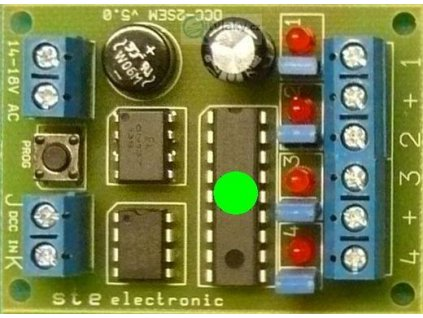 Dekodér pro návěstidlo DCC-2Sem-uni / STE 006
