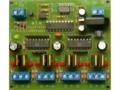 výhybkový dekodér DCC-4DEC4-opto / STE 043