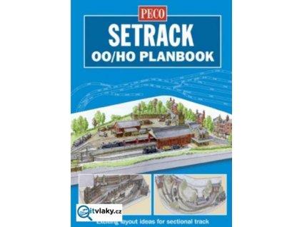 Plány kolejišť pro SETRACK H0 / PECO STP-00