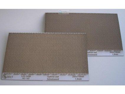 TT - Univerzální opěrná zeď 200 x 110 mm / KB model 4406