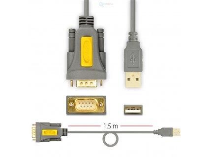 redukce z RS232 na USB