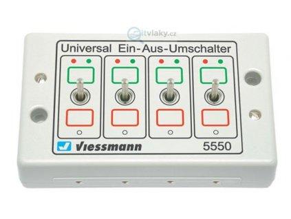Ovládací pult se 4 přepínači / Viessmann 5550