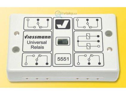 Spínací univerzální relé / Viessmann 5551