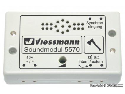 Zvukový modul - zvuk štípání dříví /  Viessmann 5570