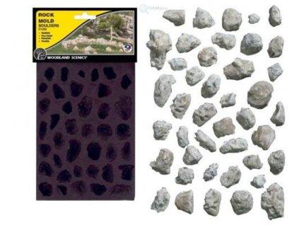 Forma na skalní útvary - balvany / Woodland Scenics C1232