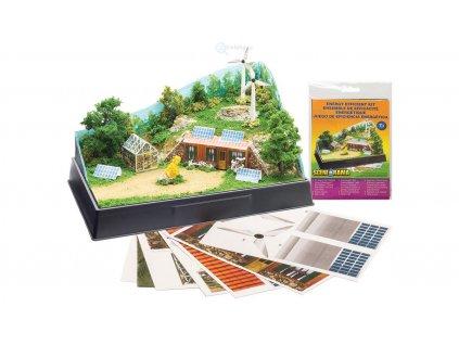 Stavebnice - ekologický dům / Woodland Scenics SP4138
