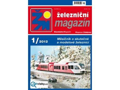 časopis Železniční magazín - poslední číslo, které právě vyšlo