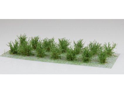 Nízké keře - mikro listí - zelená břízová / Polák model 9103