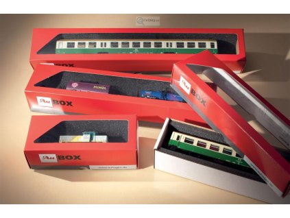 Krabička na modely 10 ks, 375 x 60 x 50 mm Au-box/ Auhagen 99304