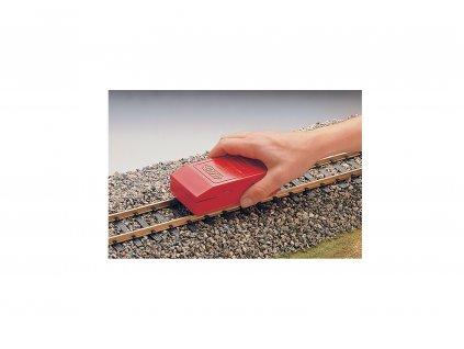 G - čistící guma na koleje s držákem / LGB 50040