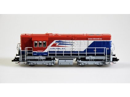 TT - dieselová lokomotiva 740 Lokorail a.s. (SK), Ep. VI KOCOUR / Tillig 02759