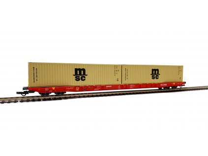 420465 6 h0 plosinovy vuz sggnss rail cargo 2x msc igra model 96010029