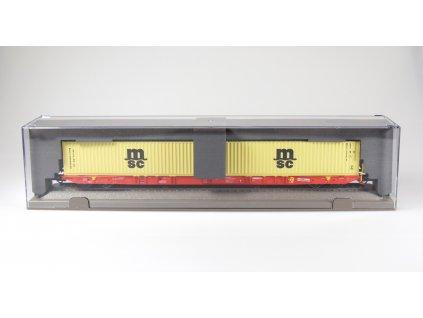 420465 4 h0 plosinovy vuz sggnss rail cargo 2x msc igra model 96010029