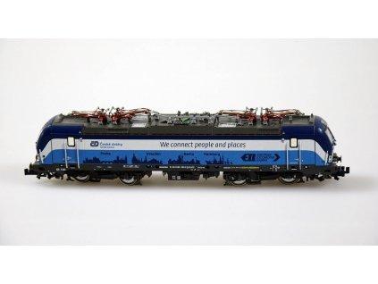 N DCC/ZVUK Elektrická lokomotiva řady 193 VECTRON, ČD / FLEISCHMANN 739376