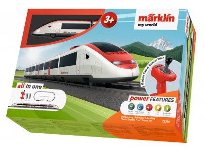H0 - Dětský start set Swiss Express Train / Marklin 29335