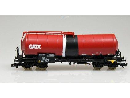 TT - kotlový vůz GATX se zkoseným kotlem / ROCO 37636x