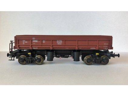 H0 - výsypný vůz Ua ČSD hnědý č. SV 0105 Dumpcar / Albert-Modell 420001