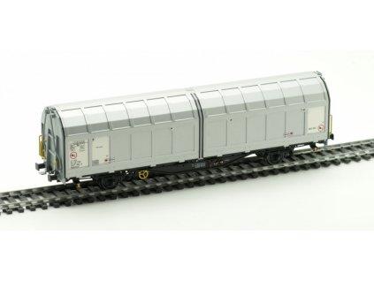 H0 - vůz Hbbillns ČD Cargo  Ep. VI aluminium / Albert-Modell 245013