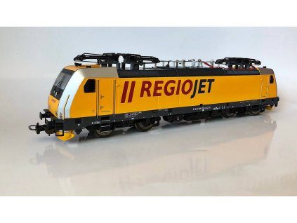"""H0 - elektrická lokomotiva řady 386 """"Regiojet"""" CZ / PIKO 59968"""
