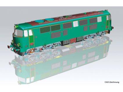 H0 - Dieselová lokomotiva SP45, PKP / PIKO 96308