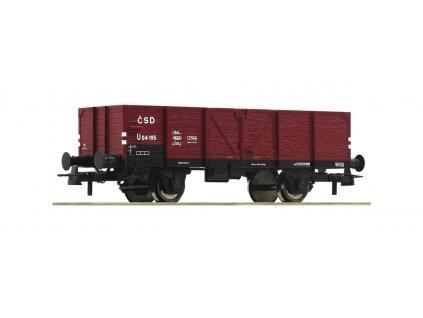 H0 -  otevřený vůz ČSD, Ep. III / ROCO 76854