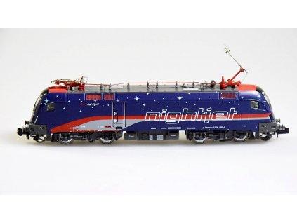 N - elektrická lokomotiva NIGHJET BR1116 Taurus, ÖBB / Hobbytrain 2783
