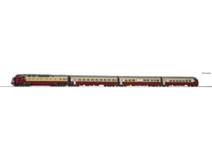 H0 - TEE- Dieselová jednotka DE IV, NS / Roco 72068