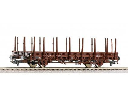 AKCE! H0 - Plošinový vůz s klanicemi Kbs, ÖBB, Ep. VI / Roco 67597
