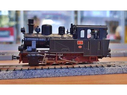 """H0e - Parní lokomotiva """"12O"""", RÜKB, Ep. I / Roco 33238"""