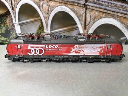 DCC/ZVUK - N - Elektrická lokomotiva 1293 018-8, ÖBB, Ep. VI / Fleischmann 739394