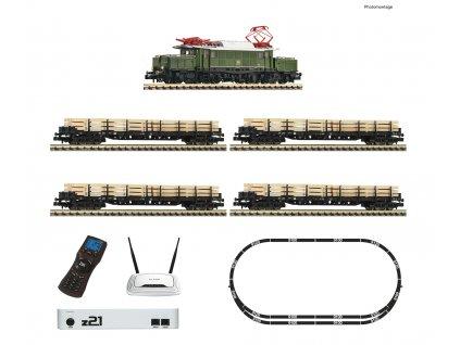 N - z21® DCC/SOUND/WI-FI - elektrická ozvučená lokomotiva BR 194 s vozy DB / Fleischmann 931886