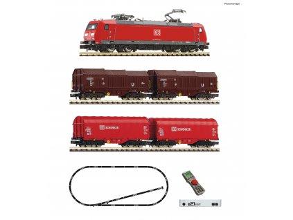N - z21®start Digitální set: Elektrická lokomotiva BR 185.1 s vozy, DB-AG, Ep. VI /...