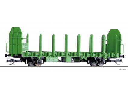 TT - Plošinový vůz Laaps DB AG, Ep. VI / TILLIG 14600