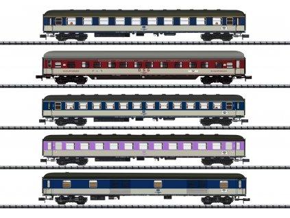 429414 schnellzugwagen set db trix 15473