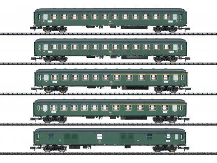 429432 schnellzugwagen set d 360 db trix 15219