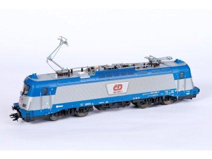 429741 1 h0 dcc zvuk elektricka lokomotiva 380 001 8 cd nove cislo trix 22298