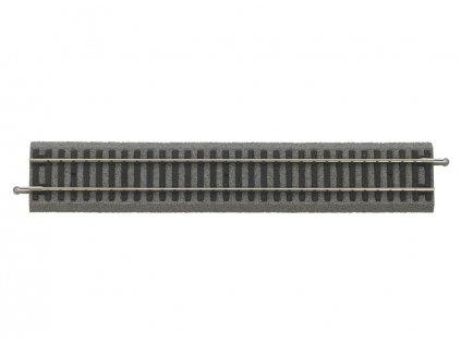 H0 - Rovná kolej 239 mm PIKO A-Gleis s podložím / PIKO 55400