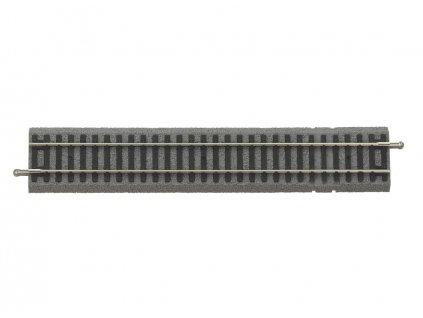 H0 - Rovná kolej G 231 mm pro napájecí konektor A-Gleis s podložím / PIKO 55406